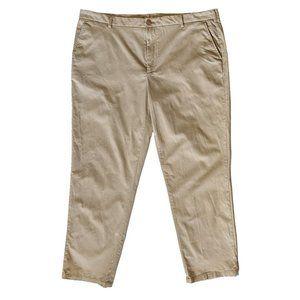 Izod Flat Front Chino Pants 40x30